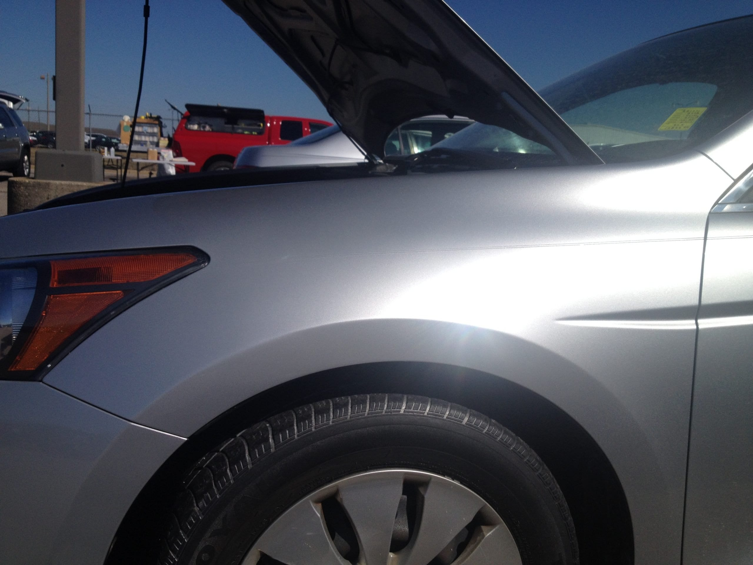 Montgomery Alabama Paintless Dent Removal - After Repair