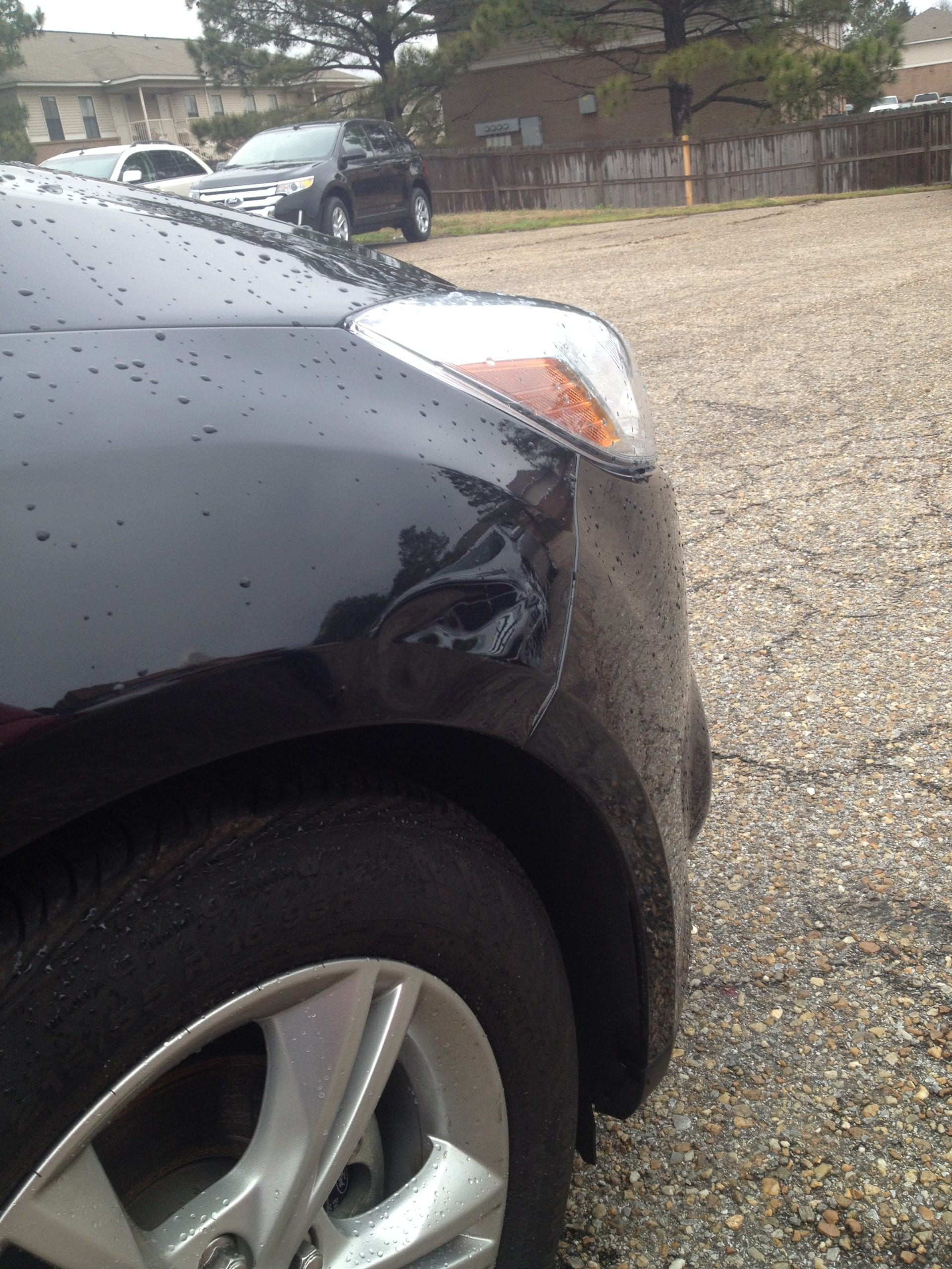 PDR experts based in Montgomery Alabama - BEFORE Repair